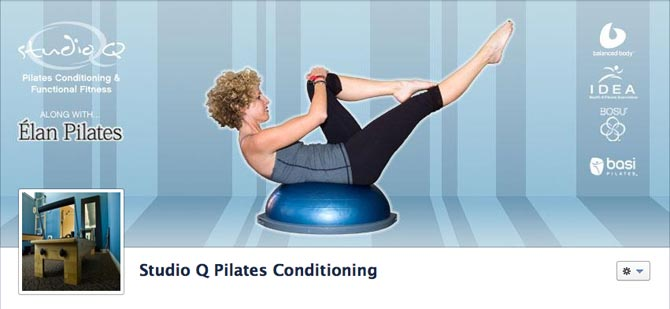 Studio Q Pilates and Conditioning Facebook Cover Photo